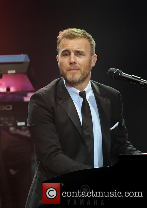 gary barlow performing live on stage at 20038669