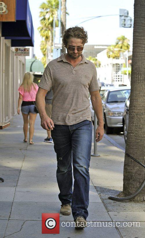 Gerard Butler out and about Hollywood, California