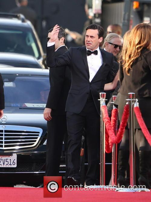 Jon Hamm and Beverly Hilton Hotel 4
