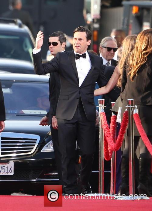 Jon Hamm and Beverly Hilton Hotel 3