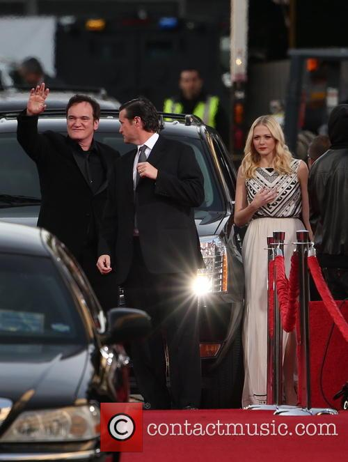 Quentin Tarantino and Beverly Hilton Hotel 1