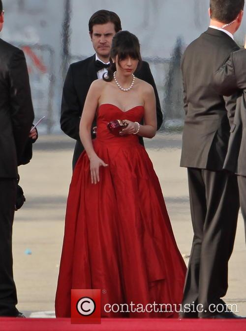 Zooey Deschanel and Beverly Hilton Hotel 6