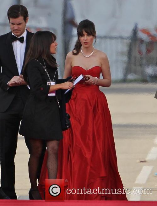 Zooey Deschanel and Beverly Hilton Hotel 7