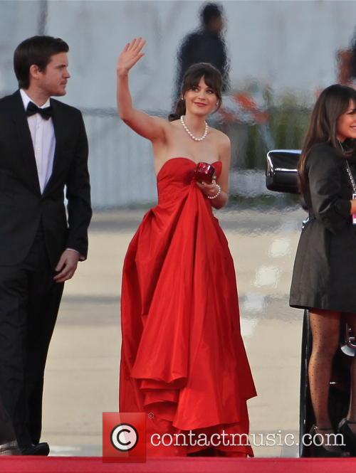 Zooey Deschanel and Beverly Hilton Hotel 3