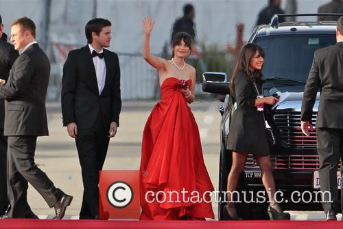 Zooey Deschanel and Beverly Hilton Hotel 8