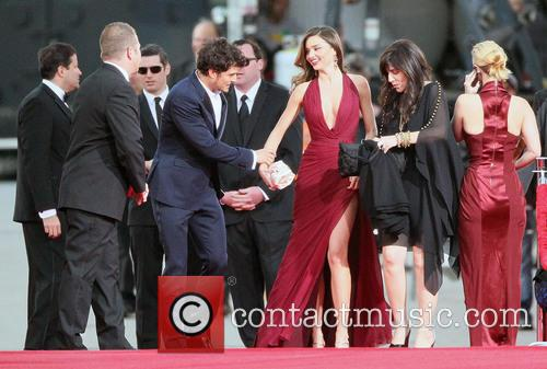 Orlando Bloom, Miranda Kerr and Beverly Hilton Hotel 19