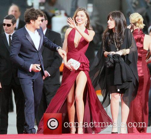 Orlando Bloom, Miranda Kerr and Beverly Hilton Hotel 16