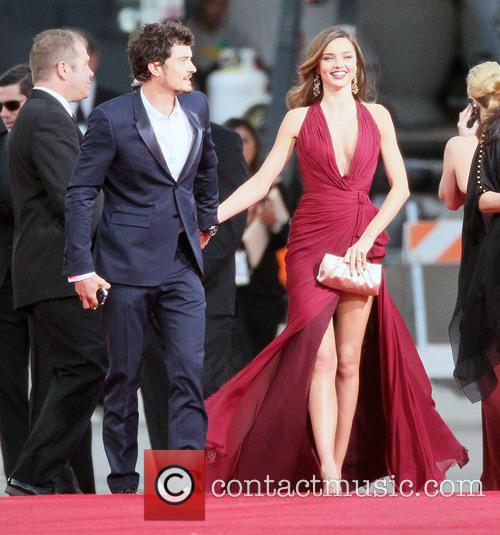 Orlando Bloom, Miranda Kerr and Beverly Hilton Hotel 17