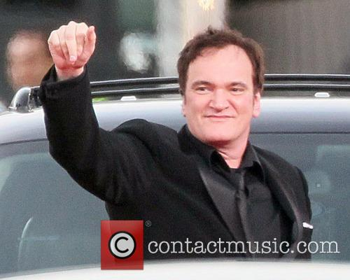 Quentin Tarantino and Beverly Hilton Hotel 2