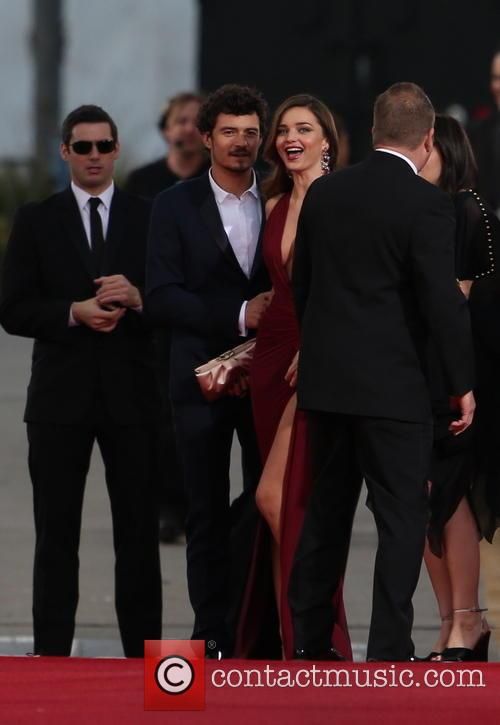 Orlando Bloom, Miranda Kerr and Beverly Hilton Hotel 50