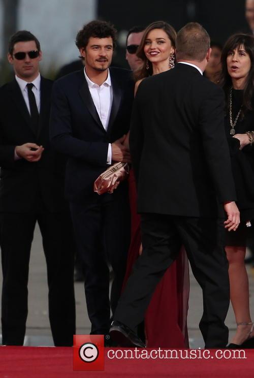 Orlando Bloom, Miranda Kerr and Beverly Hilton Hotel 32