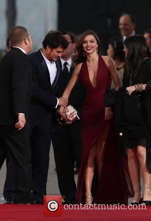 Orlando Bloom, Miranda Kerr and Beverly Hilton Hotel 31