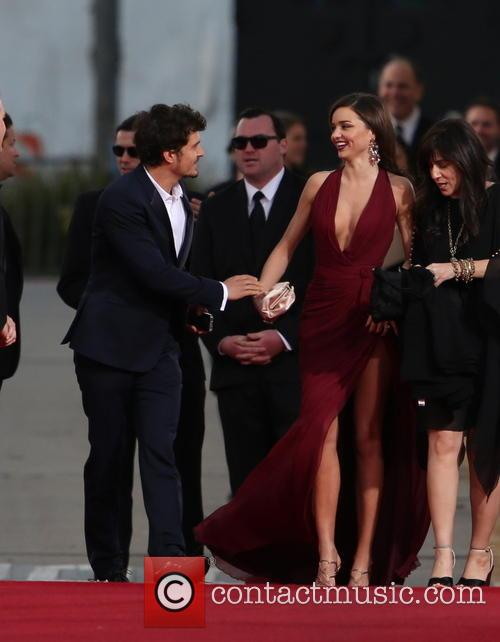 Orlando Bloom, Miranda Kerr and Beverly Hilton Hotel 38