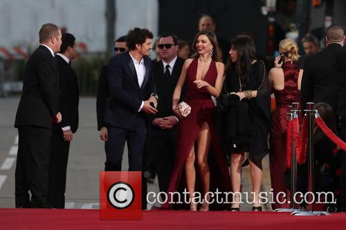 Orlando Bloom, Miranda Kerr and Beverly Hilton Hotel 25