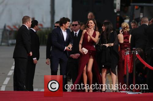 Orlando Bloom, Miranda Kerr and Beverly Hilton Hotel 30
