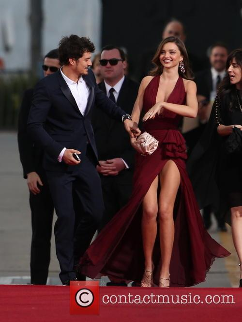 Orlando Bloom, Miranda Kerr and Beverly Hilton Hotel 22