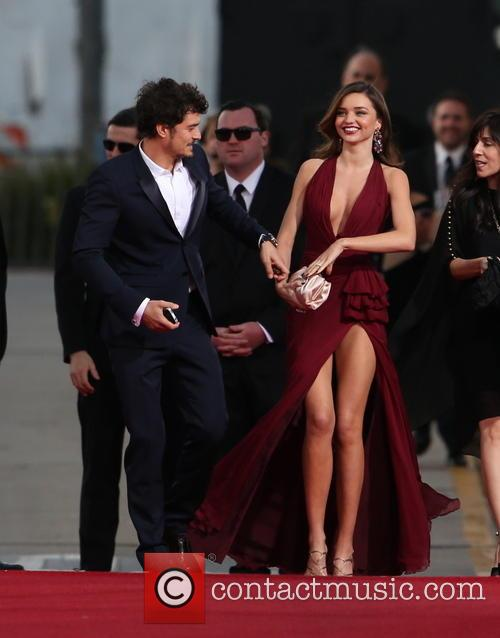 Orlando Bloom, Miranda Kerr and Beverly Hilton Hotel 33
