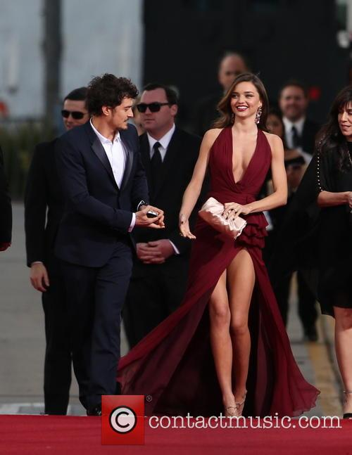 Orlando Bloom, Miranda Kerr and Beverly Hilton Hotel 35