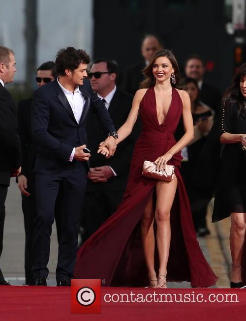Orlando Bloom, Miranda Kerr and Beverly Hilton Hotel 47