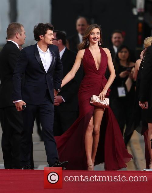 Orlando Bloom, Miranda Kerr and Beverly Hilton Hotel 23