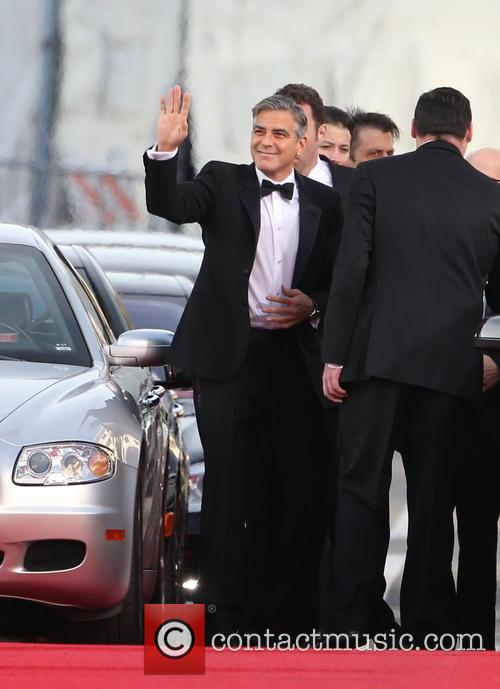 George Clooney, Beverly Hilton Hotel