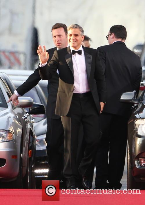 George Clooney and Beverly Hilton Hotel 19
