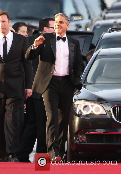 George Clooney and Beverly Hilton Hotel 15