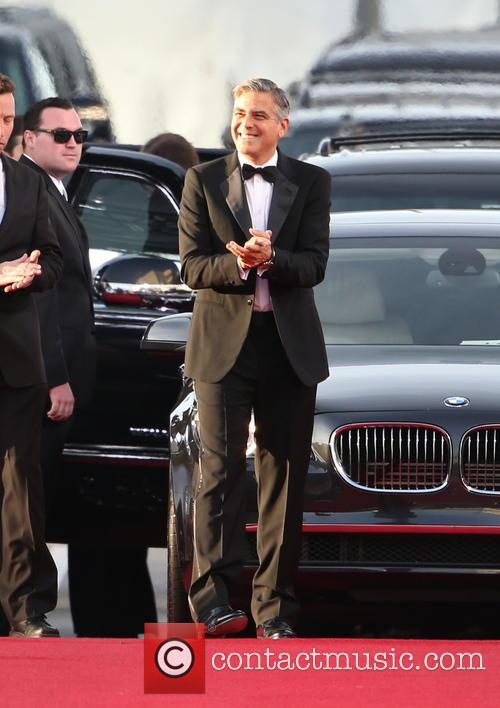 George Clooney and Beverly Hilton Hotel 9