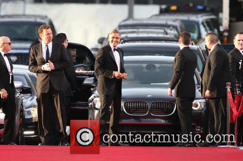 George Clooney and Beverly Hilton Hotel 10