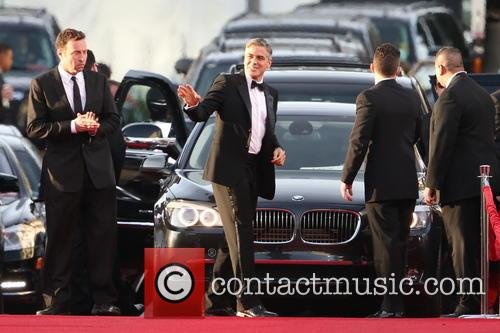 George Clooney and Beverly Hilton Hotel 12