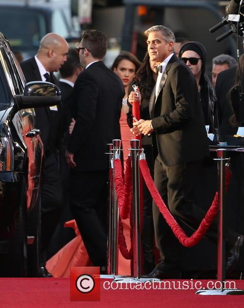 George Clooney and Beverly Hilton Hotel 22