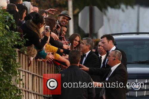 George Clooney and Beverly Hilton Hotel 21
