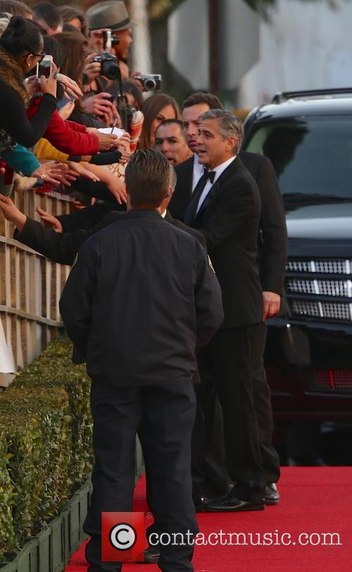George Clooney and Beverly Hilton Hotel 23
