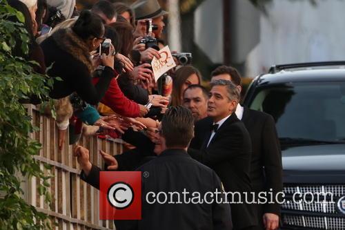 George Clooney, Beverly Hilton Hotel