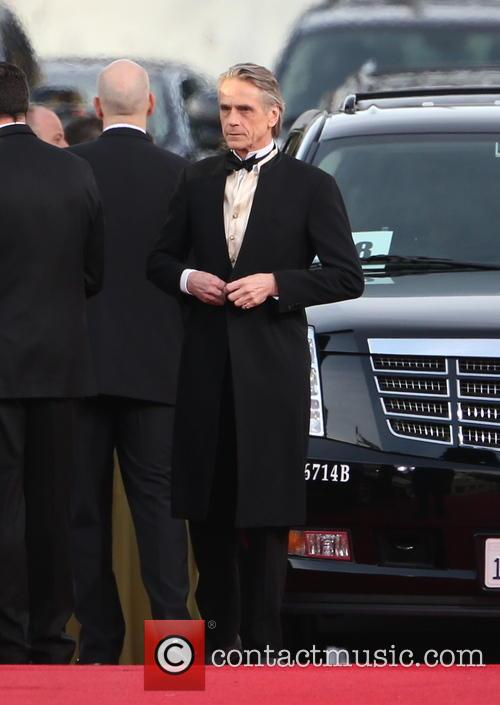 Jeremy Irons and Beverly Hilton Hotel 6