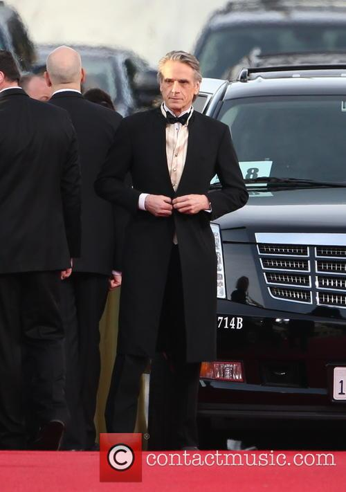 Jeremy Irons and Beverly Hilton Hotel 1