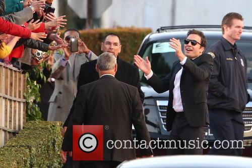 Jimmy Fallon and Beverly Hilton Hotel 7