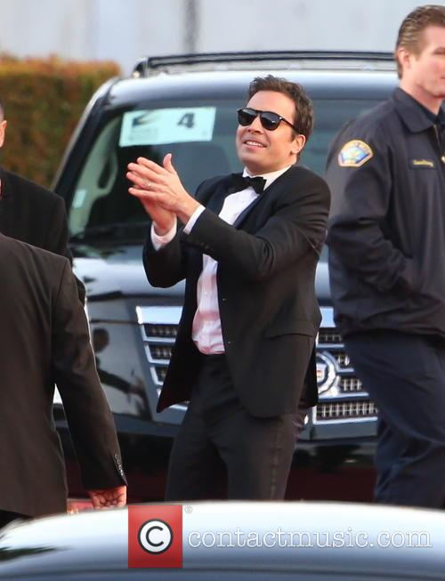 Jimmy Fallon and Beverly Hilton Hotel 3