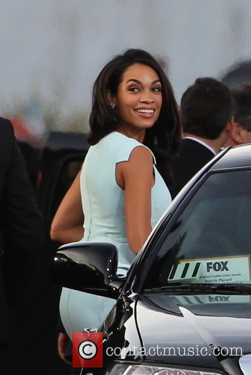 Rosario Dawson and Beverly Hilton Hotel 2