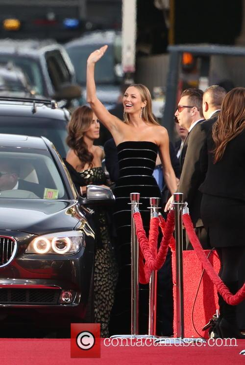 Stacy Keibler and Beverly Hilton Hotel 6