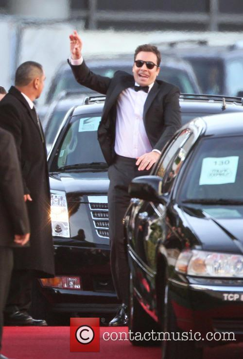 Jimmy Fallon and Beverly Hilton Hotel 12
