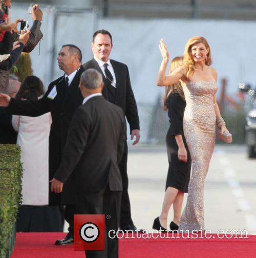 Connie Britton, Beverly Hilton Hotel
