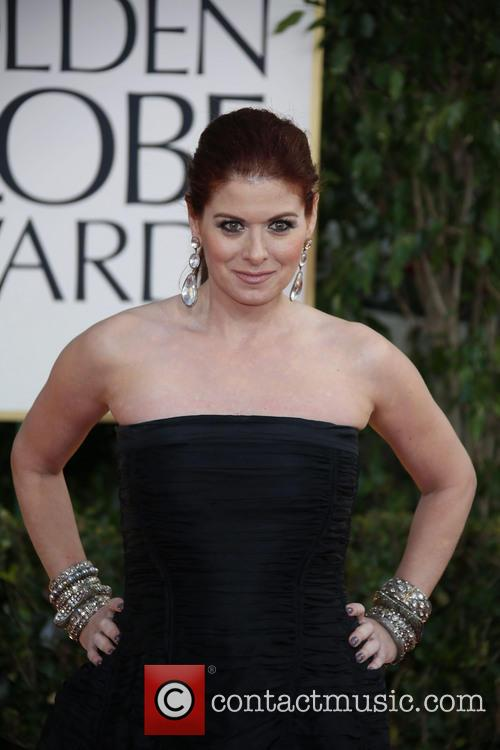Debra Messing and Beverly Hilton Hotel 2