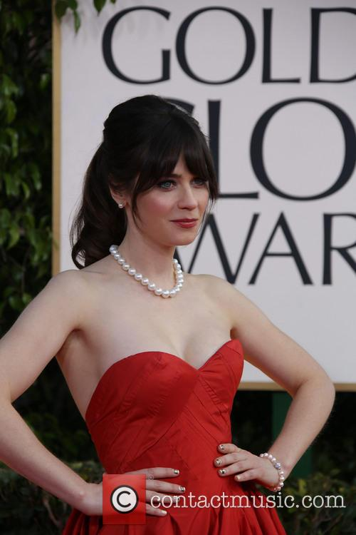Zooey Deschanel and Beverly Hilton Hotel 4