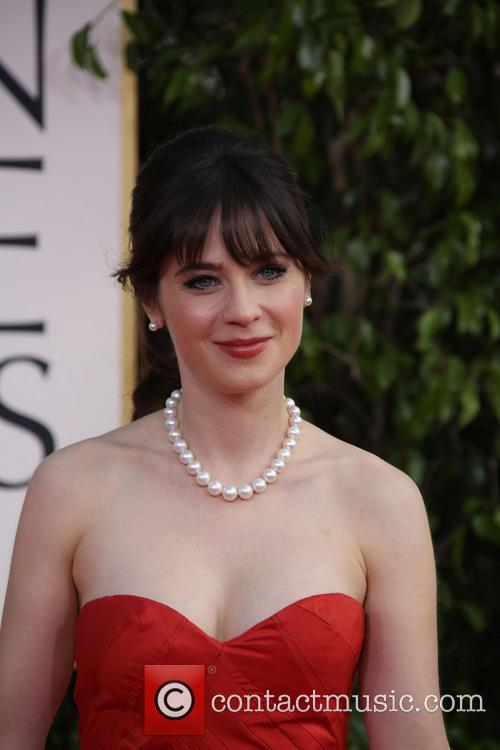 Zooey Deschanel and Beverly Hilton Hotel 2
