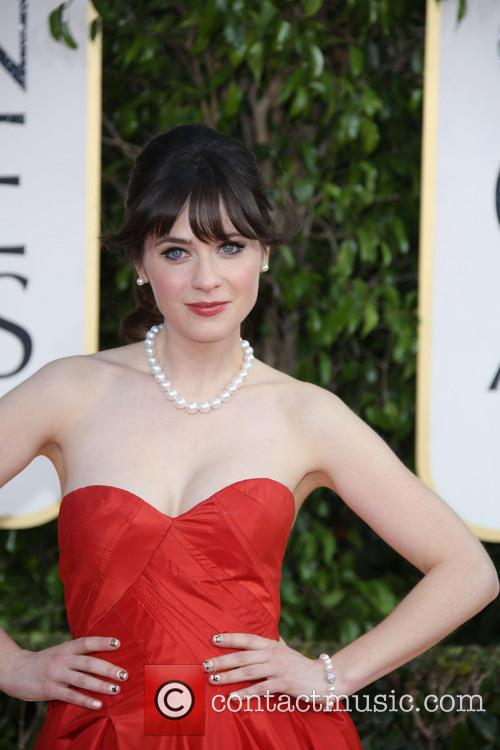 Zooey Deschanel and Beverly Hilton Hotel 1