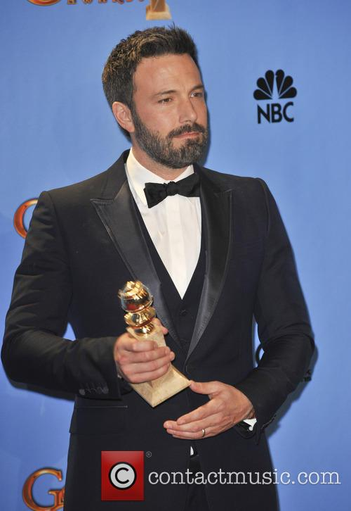 Ben Affleck at the Golden Globes