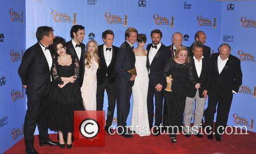 Helena Bonham Carter, Sacha Baron Cohen, Amanda Seyfried, Eddie Redmayne, Anne Hathaway, Hugh Jackman and Beverly Hilton Hotel 2