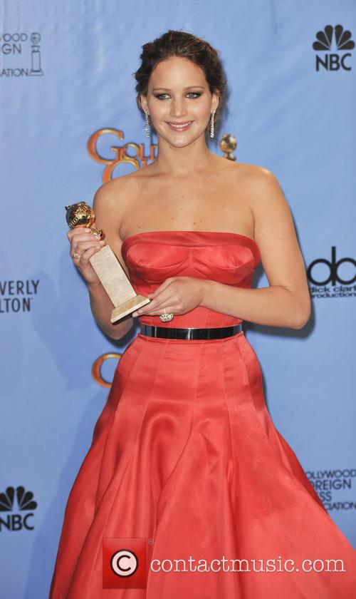 Jennifer Lawrence, Golden Globes Dress 2013