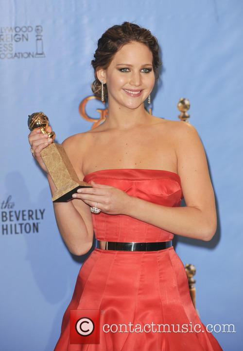 Jennifer Lawrence and Beverly Hilton Hotel 2